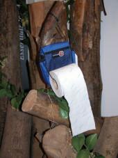 Torebka - uchwyt na papier toaletowy Travel Safe
