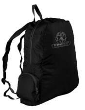 Plecak turystyczny składany Mini Backpack Travel Safe czarny