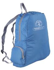 Składany plecak turystyczny Travel Safe -  Mini Backpack niebieski