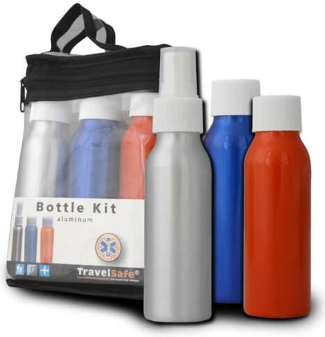 Zestaw pojemników turystycznych Travel Safe Bottle Kit 3x100 ml