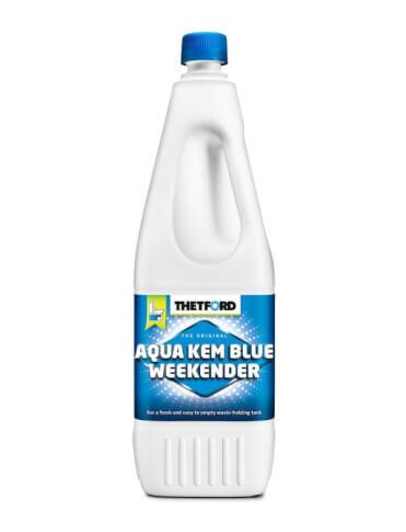Płyn do zbiornika na fekalia 2 litry Aqua Kem Blue Weekender Thetford