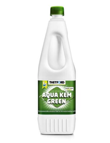 Zielony płyn do zbiorników na nieczystości w toaletach turystycznych 1,5 litra Aqua Kem Green Thetford