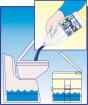 Płyn do toalet chemicznych 2 litry Super Kem Blue Fiamma
