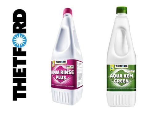 Zestaw płynów Aqua Kem Green 1.5l + Aqua Rinse PLus 1.5l Thetford