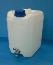 Pojemnik z kranem - kanister 20 litrów