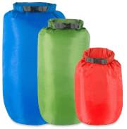 Zestaw mocnych worków wodoodpornych Dry Bags Lifeventure 5, 10 i 15 L
