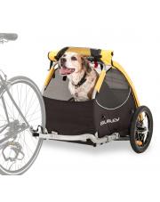 Przyczepka rowerowa dla psa Burley Tail Wagon żółta