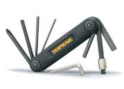 Zestaw narzędzi rowerowych Topeak X-Tool Black