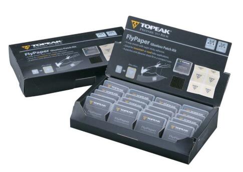 Samoprzylepne łatki do dętek Topeak Flypaper Glueless Patch Kit