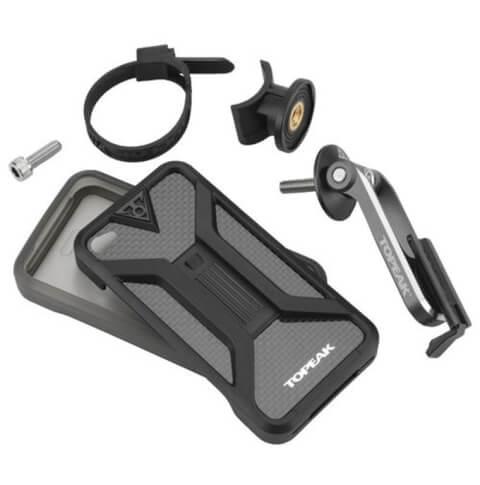Uchwyt rowerowy z pokrowcem na telefon Topeak Ridecase For iphone 4/4S Black