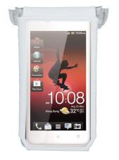 Pokrowiec rowerowy na telefon Topeak Smartphone Drybag 4 White (ekrany 3-4