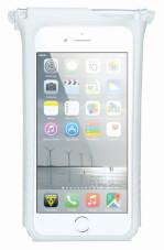Pokrowiec na telefon do roweru Topeak Smartphone Drybag 6 White ekrany 5