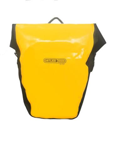 Sakwy rowerowe tylne Ortlieb Back-Roller City 40l żółto-czarne