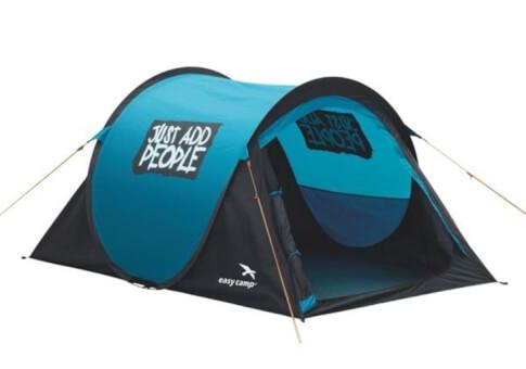 Samootwierający się namiot turystyczny Funster Mosaic Blue Easy Camp