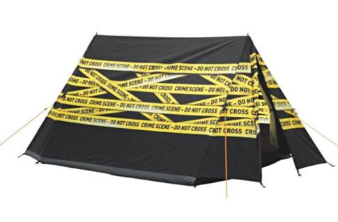 Namiot na festiwal 2 osobowy Image Crime Scene Easy Camp