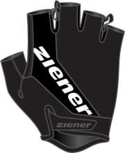 Rękawiczki rowerowe Ziener Carwyn czarne