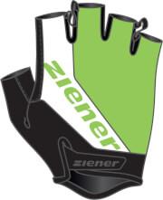 Rękawiczki rowerowe Ziener Carwyn Lime Green zielone