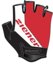 Rękawiczki na rower Ziener Carwyn czerwone