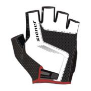 Rękawiczki rowerowe Ziener Cavel białe