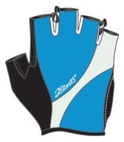 Rękawiczki rowerowe ZIENER -  CELU LADY NIEBIESKIE