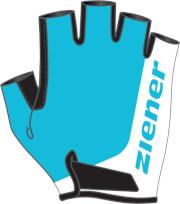 Rękawiczki rowerowe dziecięce ZIENER CORRIE JUNIOR BŁĘKITNE