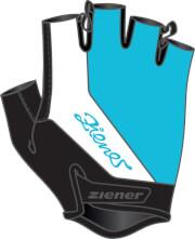 Rękawiczki rowerowe Ziener Corynna Lady Pool Blue