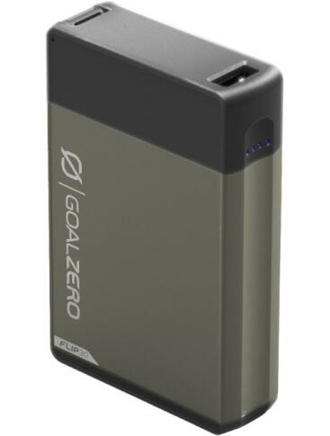 Outdoor power bank 7800 mAh FLIP 30 Goal Zero szary