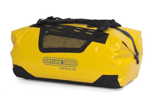 Torba ekspedycyjna Ortlieb Duffle 110L żółto-czarna