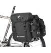 Koszyk rowerowy przedni Ortlieb Handlebar Basket czarno-szary