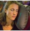 Poduszka dmuchana do spania Inflatable Pillow Lifeventure