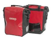 Sakwy rowerowe uniwersalne Ortlieb Sport-Roller-City czerwone 25l