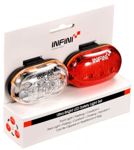 Infini Vista Set 400W+402R zestaw lampek czarny