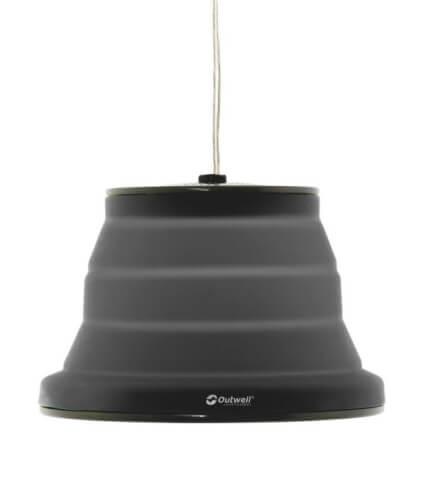 Kempingowa lampa składana Outwell Sargas Black czarna