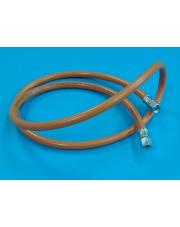Wąż gazowy 1,5m z gwintem 1/4 x 1/4 1500mm
