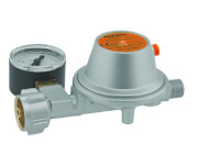 Reduktor gazowy 50mb z manometrem