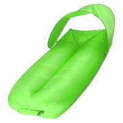 Sofa dmuchana powietrzem Sunen z baldachimem jasny zielony