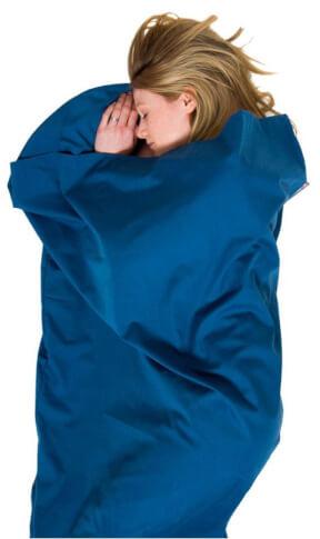 Polycotton Sleeping Bag Liner Lifeventure wkład do śpiwora mumia Lifeventure