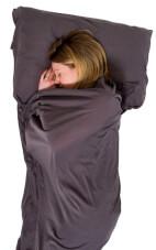 Elastyczna prostokątna wkładka do śpiwora Cotton Stretch Sleeping Bag Liner Lifeventure
