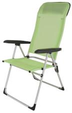 Krzesło kempingowe Quiberon Lime Euro Trail zielone