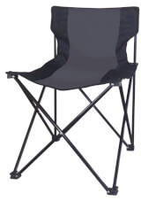Krzesło kempingowe Tillac EuroTrail czarne
