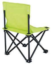 Krzesło turystyczne dla dzieci zielone Lille Kids Lime Euro Trail