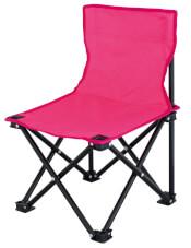 Krzesło turystyczne dla dzieci różowe Lille Kids Pink Euro Trail