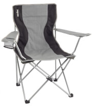 Krzesło kempingowe Armchair Classic Gray Brunner szare