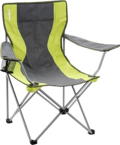 Krzesło kempingowe Armchair Classic Green Brunner zielone