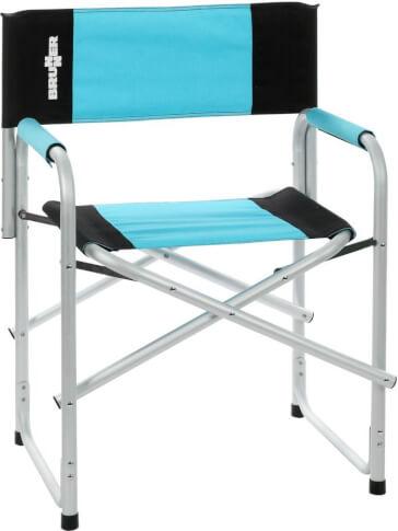 Krzesło biwakowe Brunner Bravura Blue niebieskie