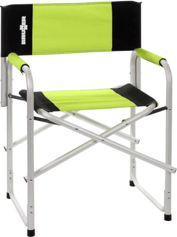 Krzesło kempingowe Brunner Bravura Green zielone