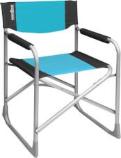 Krzesło kempingowe Captain Brunner Blue niebieskie