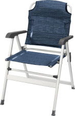 Krzesło kempingowe Kerry Classic Blue Brunner niebieskie
