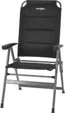 Krzesło kempingowe Kerry Slim Hover Brunner Black czarne