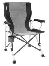 Krzesło kempingowe Brunner Kerry Slim Hover Black czarne